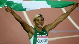 Blessing Okagbare Wins Gold In Women's 100m Final In Glasgow